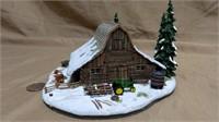 Danbury Mint JD The Log Barn
