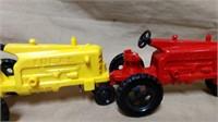 Large Lot Plastic Tractors & Equip