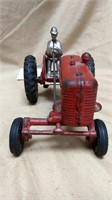 Arcade Cast Iron Tractor with Man