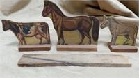 Wood Roosevelt Stock Farm Set
