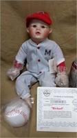 Knowles Yolanda Bello's Michael Doll