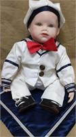 Ashton Drake Porcelain Sailor Doll
