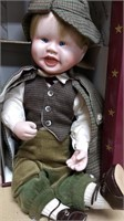 Knowles Little Sherlock Porc Doll