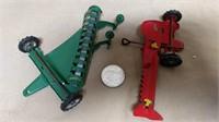 Marx Tiny Metal Toy Set