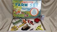 Marx Toys Complete Farm Set**
