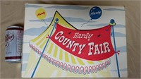 Plastic Hardy County Fair Set In Box