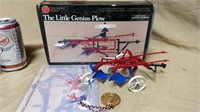 Ertl The Little Genius Plow #245 With Box
