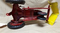 Metal Tractor With V Blade