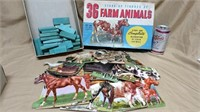 Whitman 36 Farm Animal Set