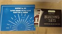 DuPage vinylite plastic building set #4C