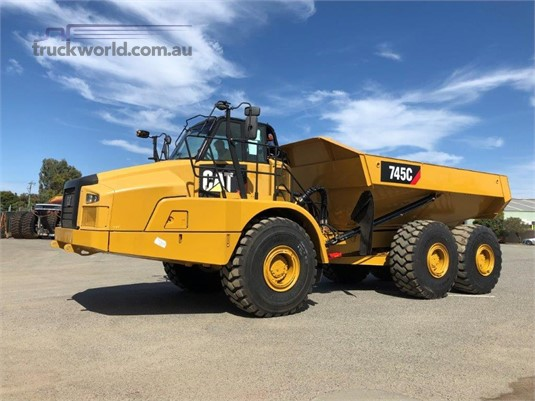 2015 Caterpillar 745C Delco Equipment Pty Ltd - Heavy Machinery for Sale