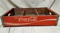 Wood Coca-Cola Case