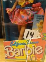 California Dream Barbie w/ comic book