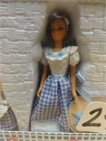 Barbie collector's edition figurine set