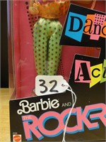 Barbie and the rockers diva doll 1986