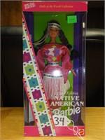 Native American Barbie 3rd edition 1994