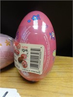 Barbie candy tin eggs-Russell Stover candies