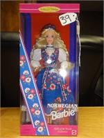 Norwegian Barbie collector edition 1995