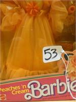 Peaches 'n cream Barbie 1984