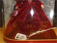 Holiday celebration Barbie special edition 2002