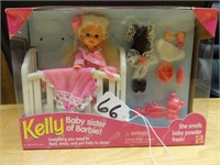 Kelly baby sister of Barbie 1994