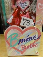 """B mine"" Barbie special edition 1993"