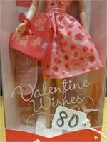 Valentine Wishes Barbie 2001
