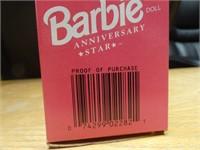 Barbie anniversary star #Walmart 30th anniv. 1992