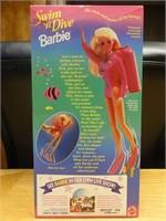 Swim 'n dive Barbie 1993