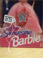 Walmart superstar Barbie 1993