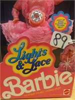 Lights and Lace Barbie 1990