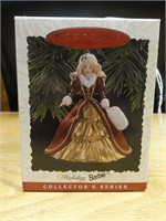 Hallmark keepsake collection holiday barbie 1996