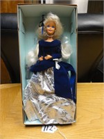 Winter Velvet Barbie first in a series 1995