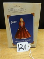 Hallmark keepsake celebration Barbie ornament