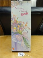 Spring Petals Barbie by Avon second in series 1996