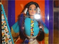 Native American Barbie second edition 1993