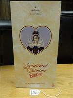 Sentimental Valentine Barbie hallmark