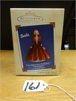 Hallmark keepsake celebration Barbie 2002