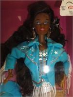 Western Stampin' Barbie 1993