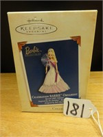 Hallmark keepsake celebration Barbie ornament 2005