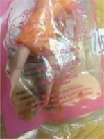 McDonald's mini barbie w/ stand 2006