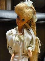 Barbie w/ white and gold outfit-- NO box
