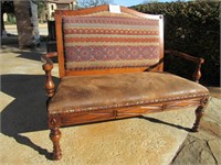 South Western Styled Love Seat
