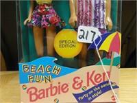 Beach Fun Barbie & Ken special edition 1993