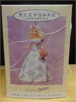 Hallmark keepsake springtime Barbie ornament