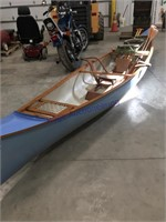 Chicagoland Canoe- with oars