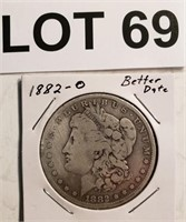 March Coin Online-Only Auction