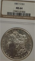 Coins/Estate Online Auction/Gary Blomquist