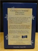 Hallmark keepsake celebration Barbie ornament