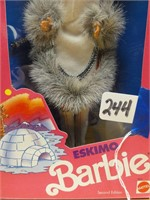 Eskimo Barbie second edition 1990